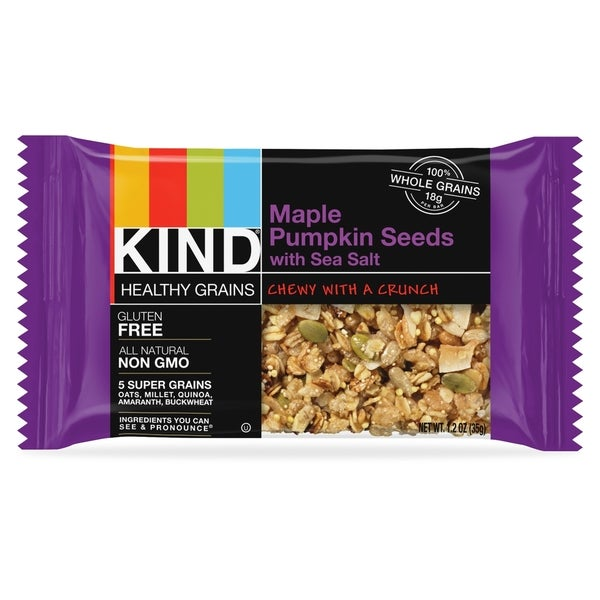KIND Maple Pumpkin Seeds/Salt Bar(12/Box)