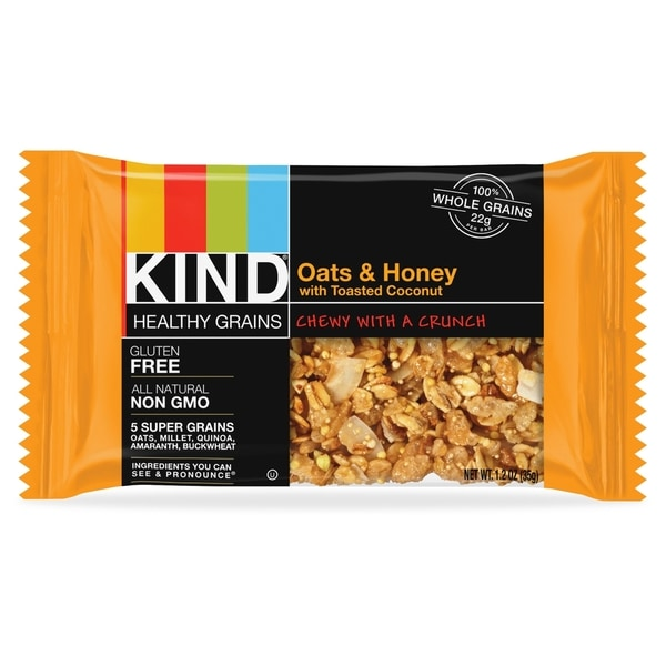 KIND Oats/Honey Toasted Coconut Bar(12/Box)