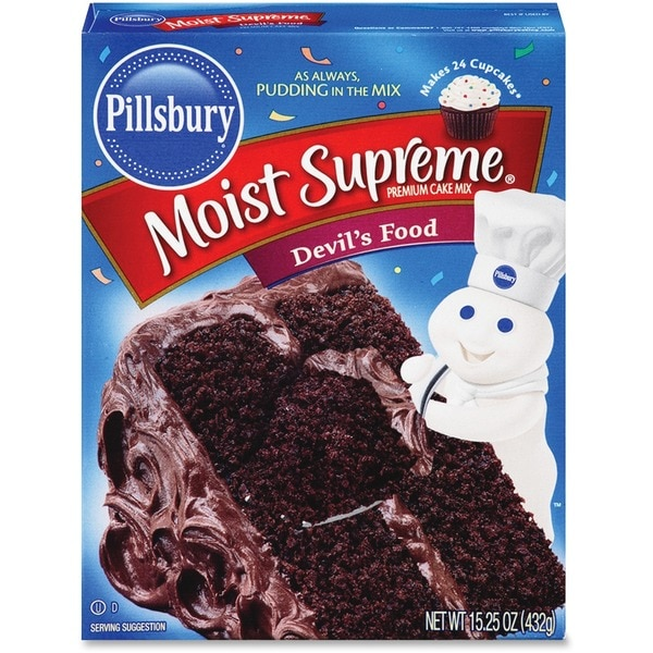 Pillsbury Moisture Supreme Devil's Food Cake Mix - Blue