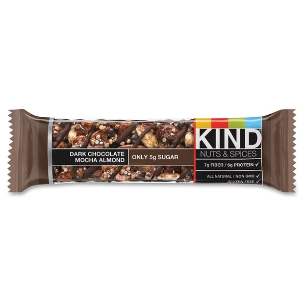 KIND Dark Chocolate Mocha Almond Nuts/Spices Bar(12/Box)