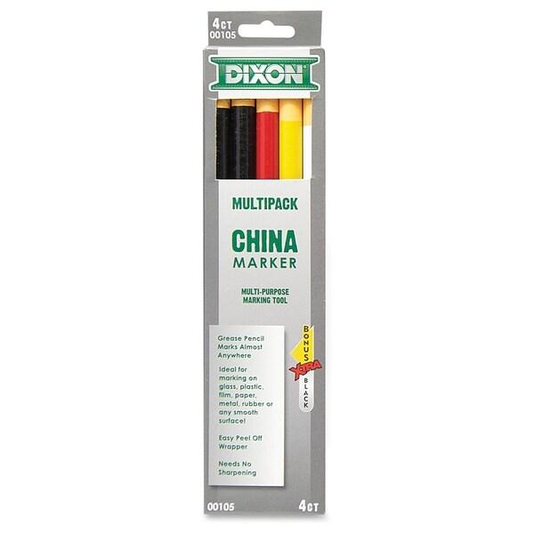 Dixon China Marker Multipurpose Marking Tool - Assorted (6/Set)