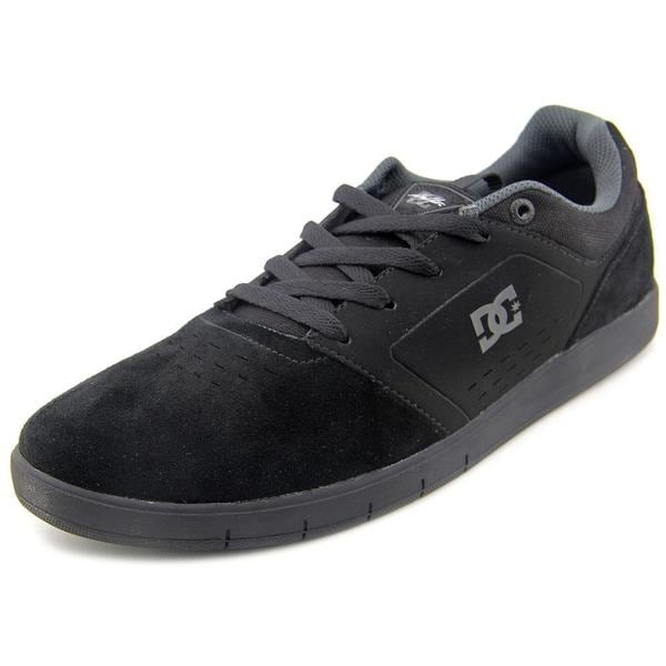 DC Shoes Men's Cole Signature Black Suede Athletic Shoes