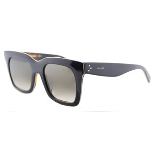 Celine CL 41411/F 273 Luca Blue Beige Brown Gradient Lens Square Sunglasses