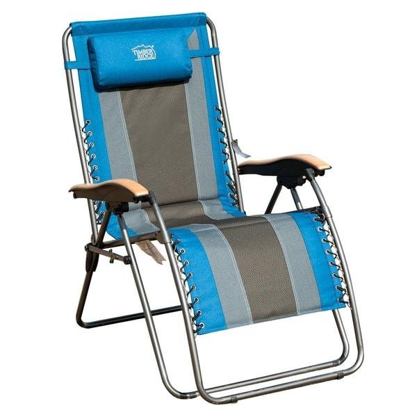 Timber Ridge Multicolor Oversized XL Padded Zero Gravity Chair