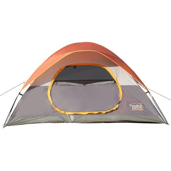 TimberRidge Multicolored Polyester Lightweight Family Camping Tent