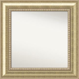 Wall Mirror Choose Your Custom Size - Medium, Astoria Champagne Wood