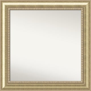 Wall Mirror Choose Your Custom Size - Large, Astoria Champagne Wood