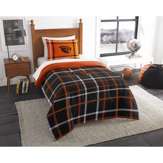 COL 835 Oregon State Twin Comforter Set