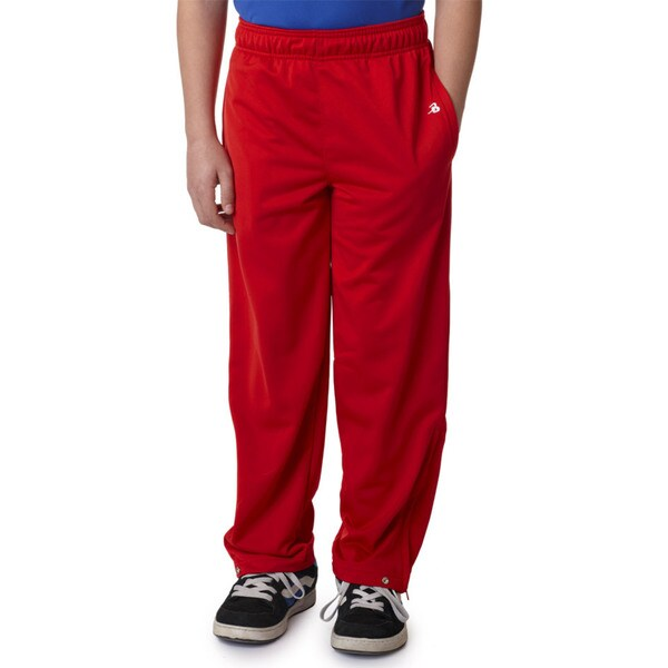 Youth Red Brushed Tricot Pants 19462974