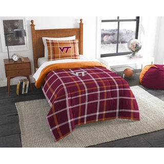 COL 835 Virginia Tech Twin Comforter Set