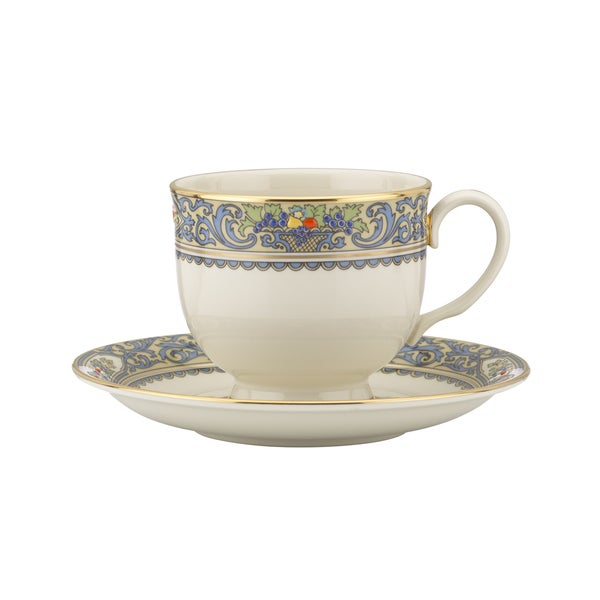 Lenox Autumn Teacup And Saucer