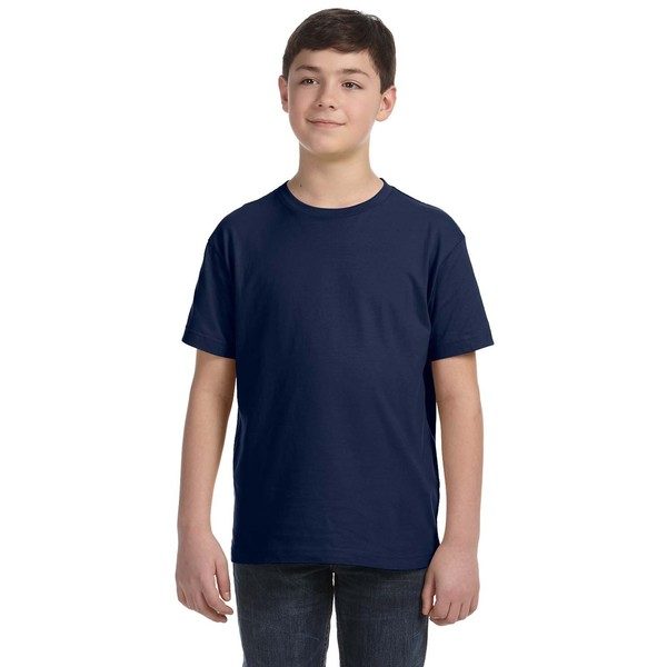 Boys' Navy Blue Fine Jersey T-shirt