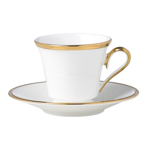 Lenox Eternal White Cup & Saucer Set