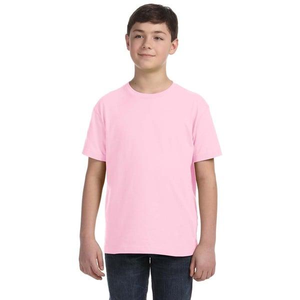 LA Boy's Pink Jersey T-shirt