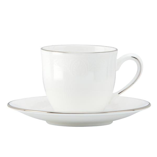 Lenox Hannah Platinum Demitasse Cup and Saucer 19463291