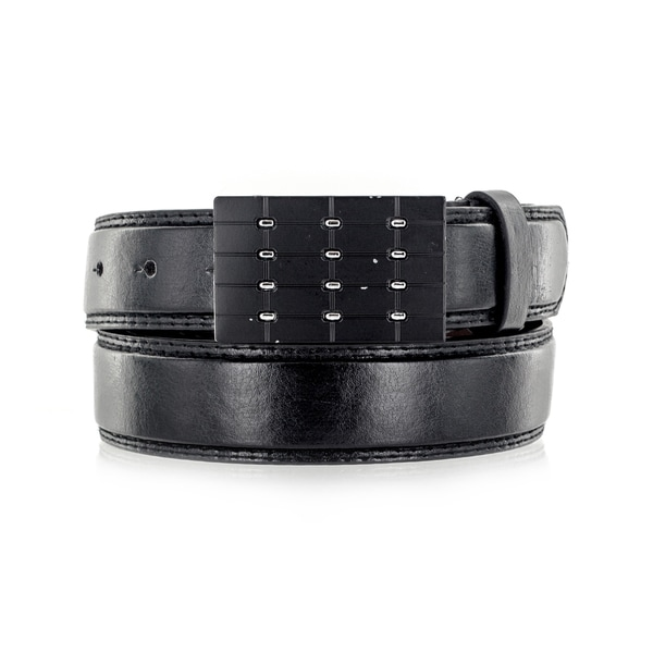 Faddism Unisex Block Buster Genuine Leather Belt