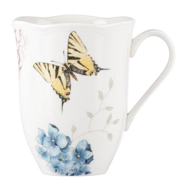 Lenox Butterfly Meadow Hydrangea Mug
