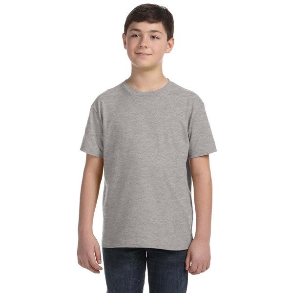 Boys' Heather-grey Fine Jersey T-shirt