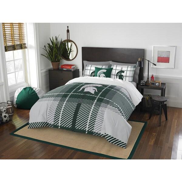 COL 836 Michigan State Full Comforter Set