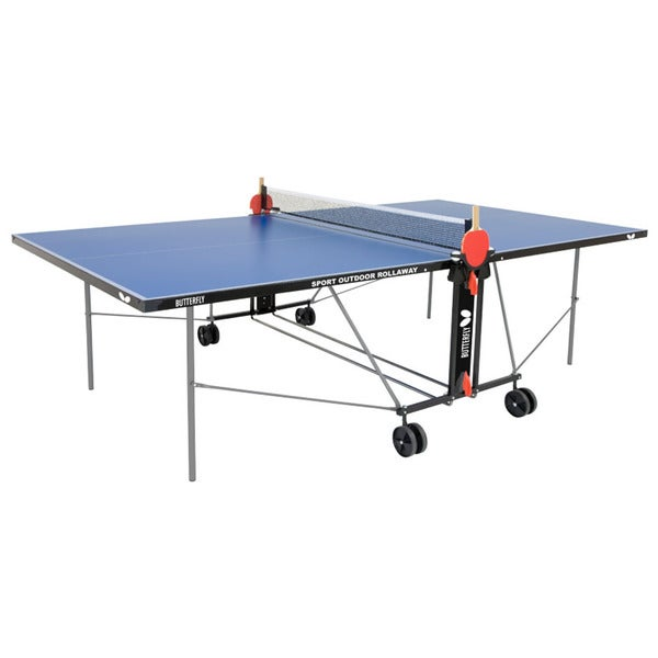 Butterfly Outdoor Sport Rollaway Table Tennis Table
