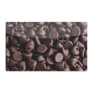KESS InHouse Libertad Leal 'Yay! Chocolate' Candy Artistic Aluminum Magnet