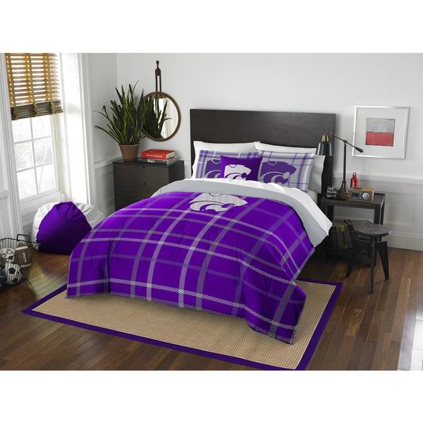 COL 836 Kansas State Full Comforter Set