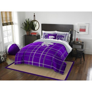 COL 836 Kansas State Full Comforter Set