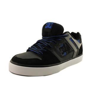 DC Shoes Men's Maze XE Black Leather Skate Shoe