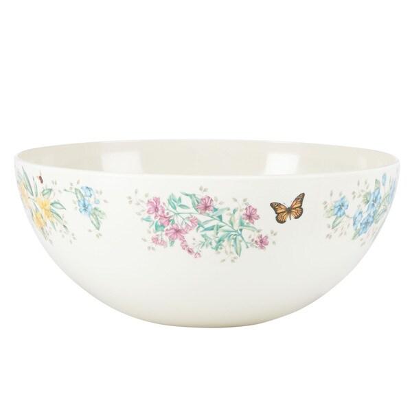 Lenox Butterfly Meadow Melamine Medium Salad Bowl