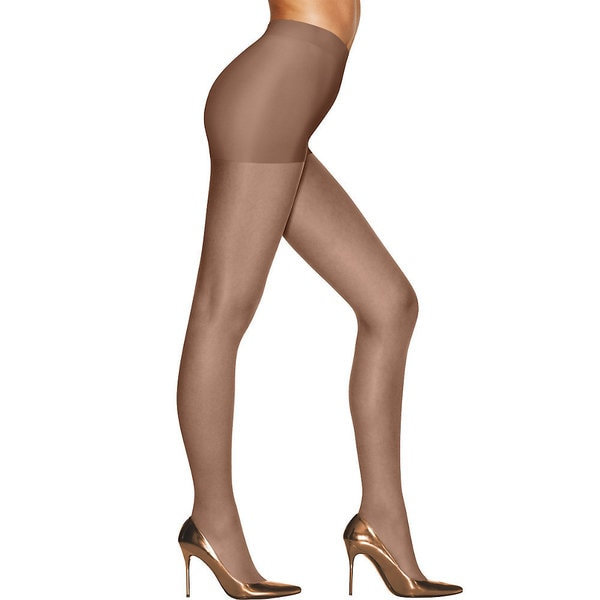 Silk Reflections Women's Sunkissed Ultra Sheer Control Top Deep Bronze Pantyhose