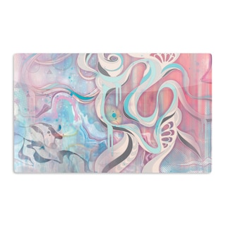 KESS InHouse Mat Miller 'Tempest' Artistic Aluminum Magnet
