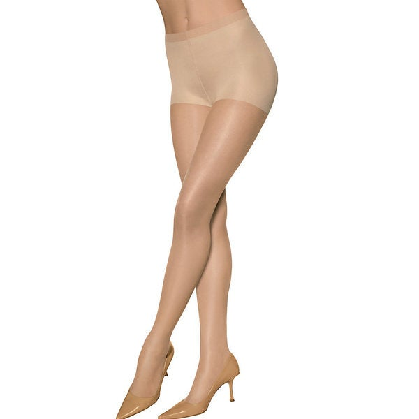 Sheer Energy Women's Suntan Control Women's Top ST Pantyhose (Pack of 2)