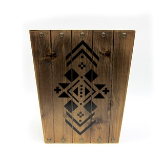 Excell Sequoia Wastebasket Wood