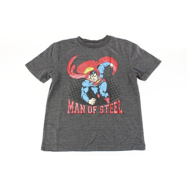 DC Comics Originals Boy's Polyester Grey Pajama Set Size M US