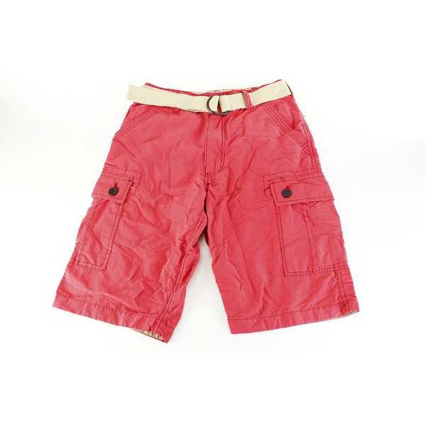 Wear First Boys' Red Cotton Size 16 US Shorts