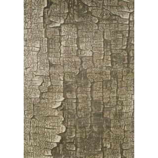 Tangerine Alligator Skin Texture Rug (7'10 x 10'6)