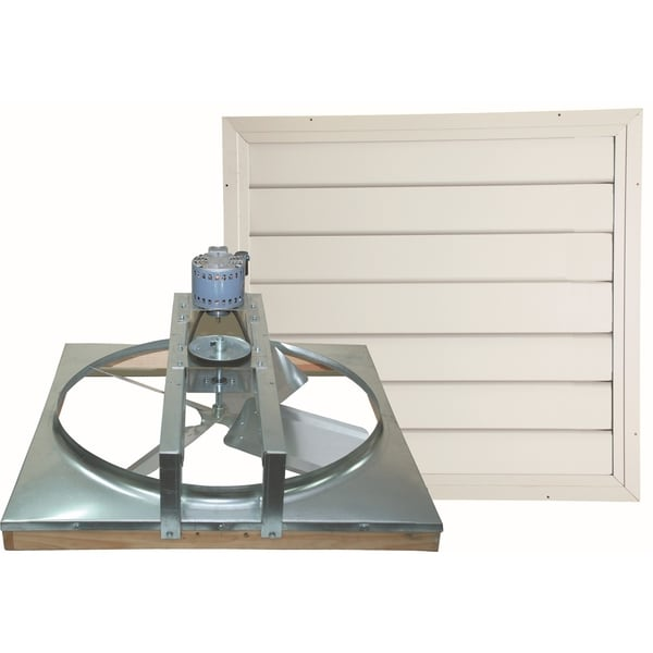 24-inch Belt Drive Whole House Fan 19471314