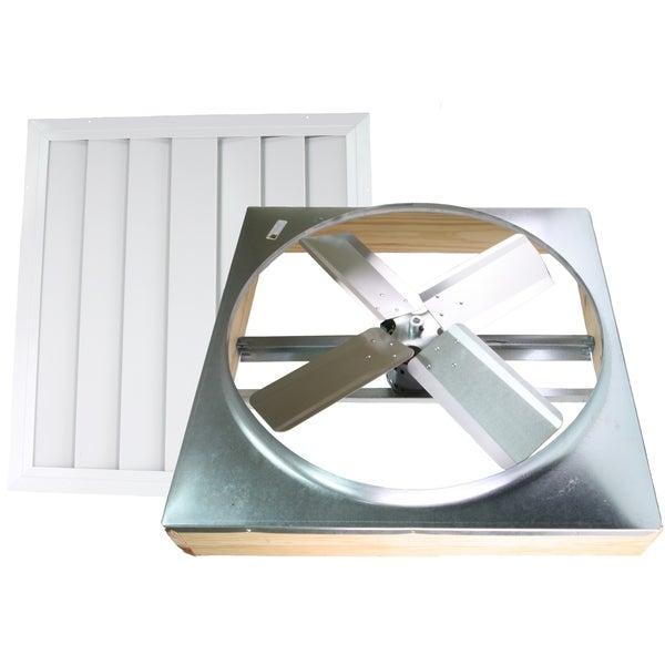 24-inch Direct Drive Whole House Fan