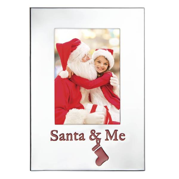 Countdown Til Christmas Santa and Me Frame