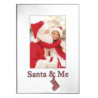 Countdown Til Christmas Santa and Me Frame