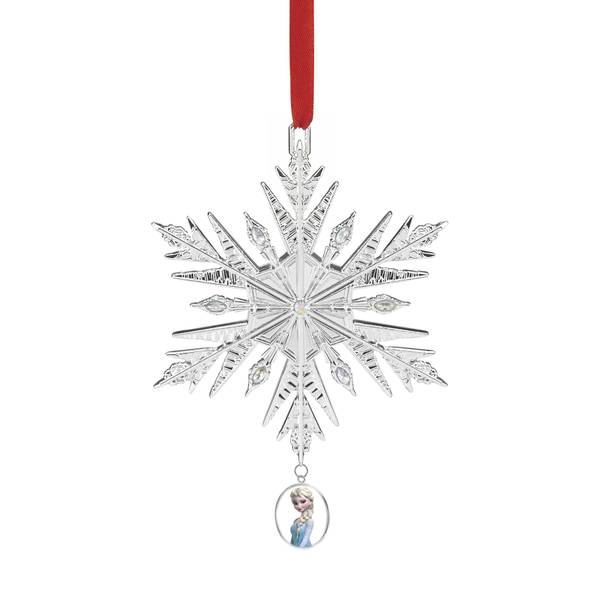Metal Frozen Snowflake Ornament