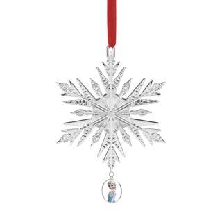 Metal Frozen Snowflake Ornament