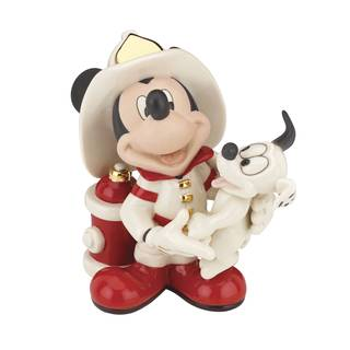 Mickey Fire Chief Figurine