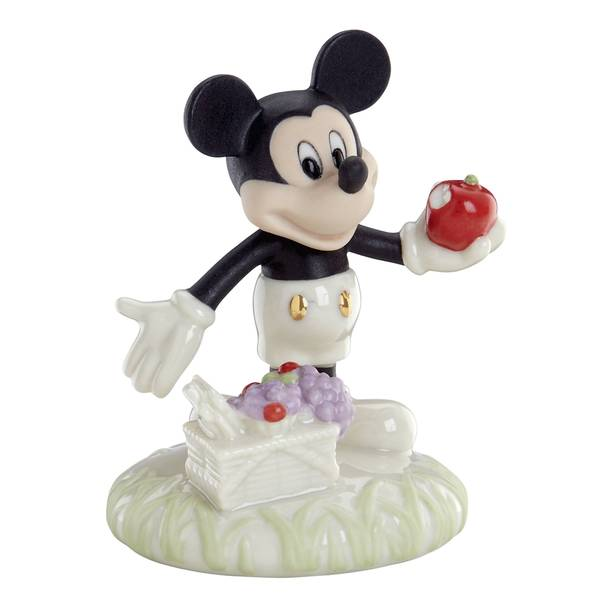 A Picnic With Mickey Figurine