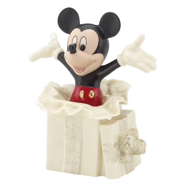 Mickeys Surprise Gift Figurine