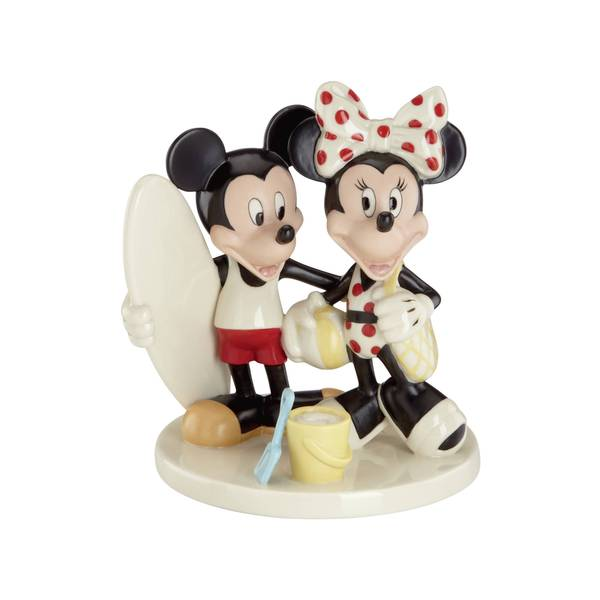 Mickey and Minnie's Fun In The Sun Figurine