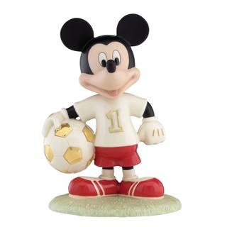 Soccer Star Mickey Figurine