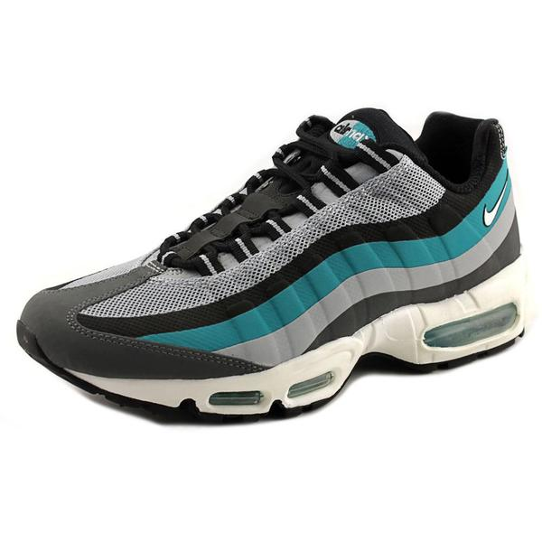 Nike Men's 'Air Max 95 No-Sew' Synthetic Athletic Running Shoes
