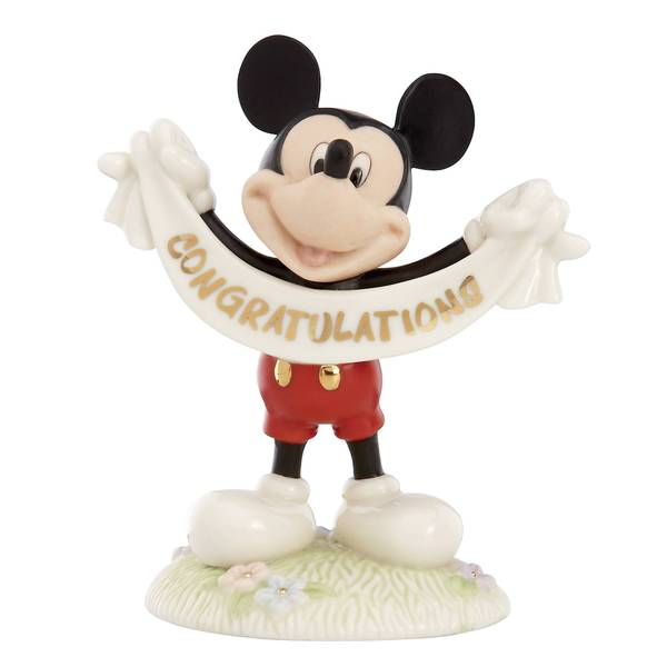 Mickeys Congratulations Figurine