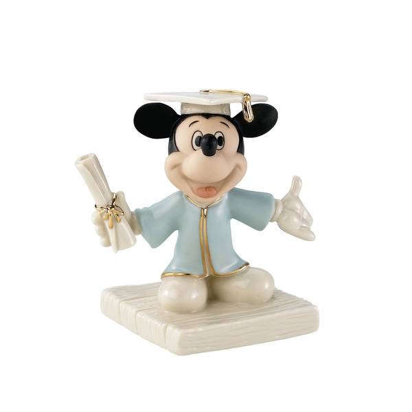 Mickeys Graduation Day Figurine